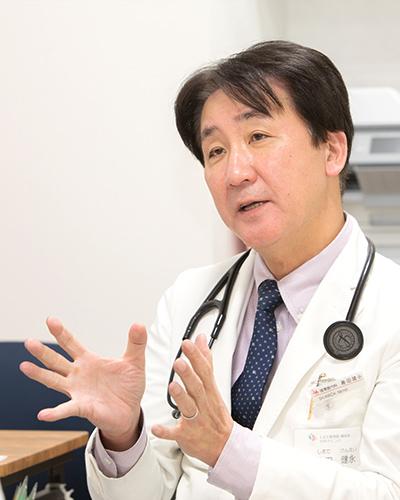 知識・経験を備えた専門医がきめ細やかに診療